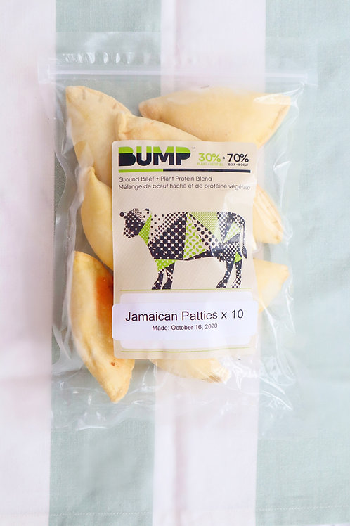 BUMP Jamaican Patties (10pack)