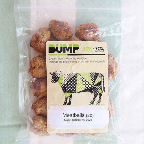 Miso Mushroom Meatballs