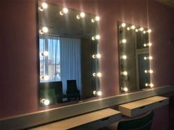 Зеркало с лампочками