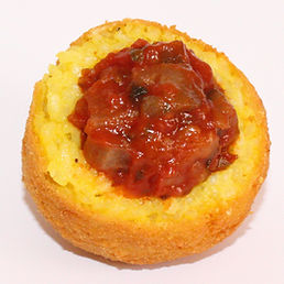 Arancini Norma - Melanzani mit Tomate
