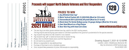 272688 Veterans Outdoor Raffle Tickets e
