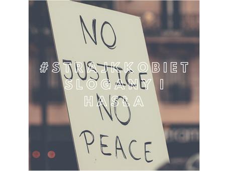 #strajkkobiet: symbole, znaki, slogany i hasła
