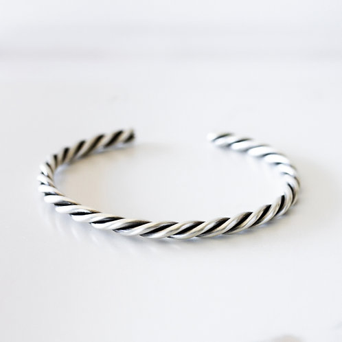 Bold Twist Sterling Silver