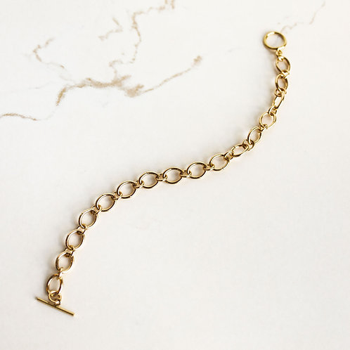 Oval Link Gold