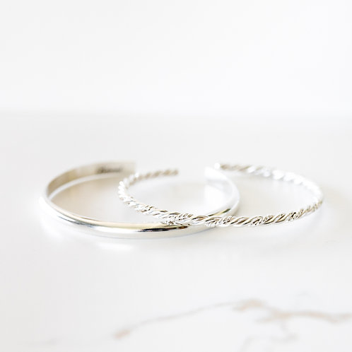 Vow & Clarity Stack Sterling Silver