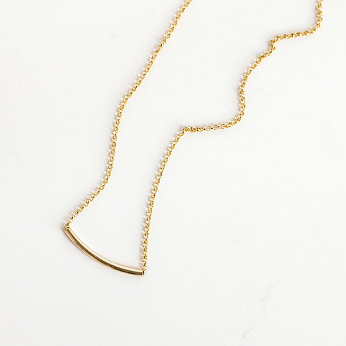 Simplicity Necklace Gold