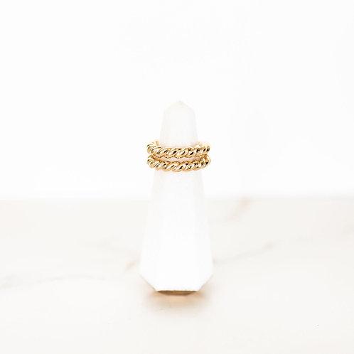 Embrace Free Spirit Gold Ring