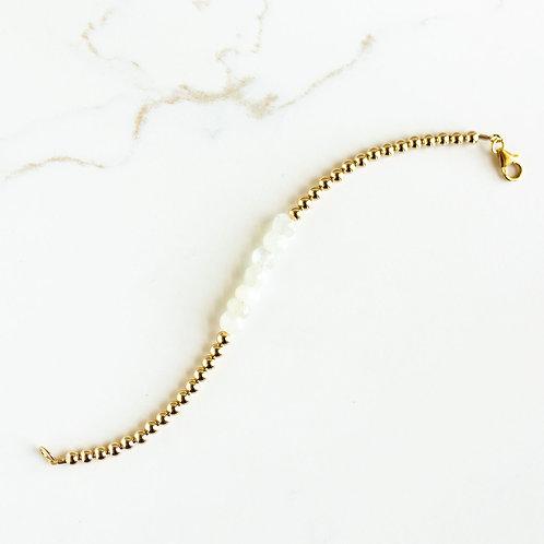 Hope Bracelet White Moonstone