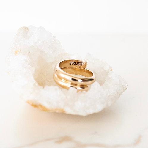 Free Spirit Classic Gold Ring