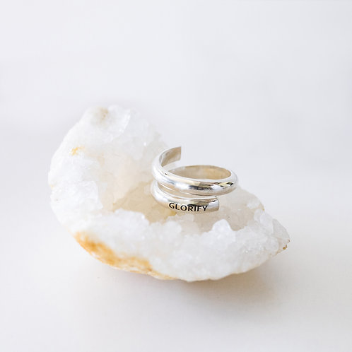 Free Spirit Classic Sterling Silver Ring