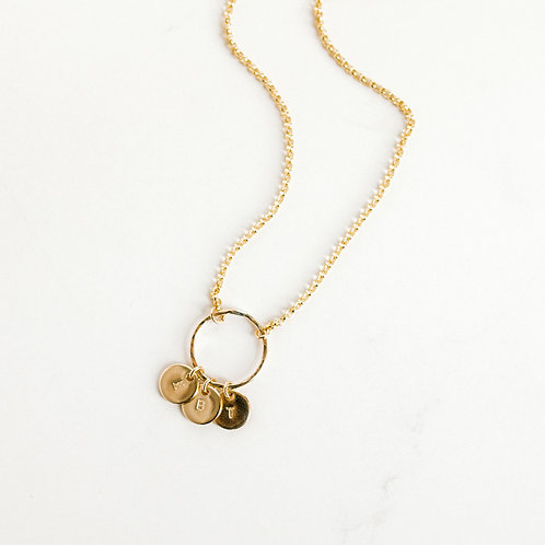 Immeasurably More Pendant Gold
