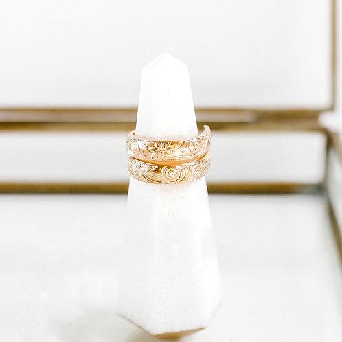 Daisy Free Spirit Gold Ring