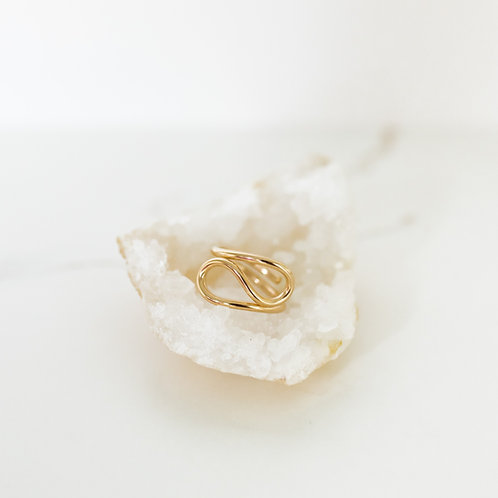 Whimsical Gold Ring