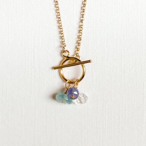 Hope Custom Gemstone Toggle