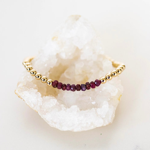 Hope Bracelet Ruby