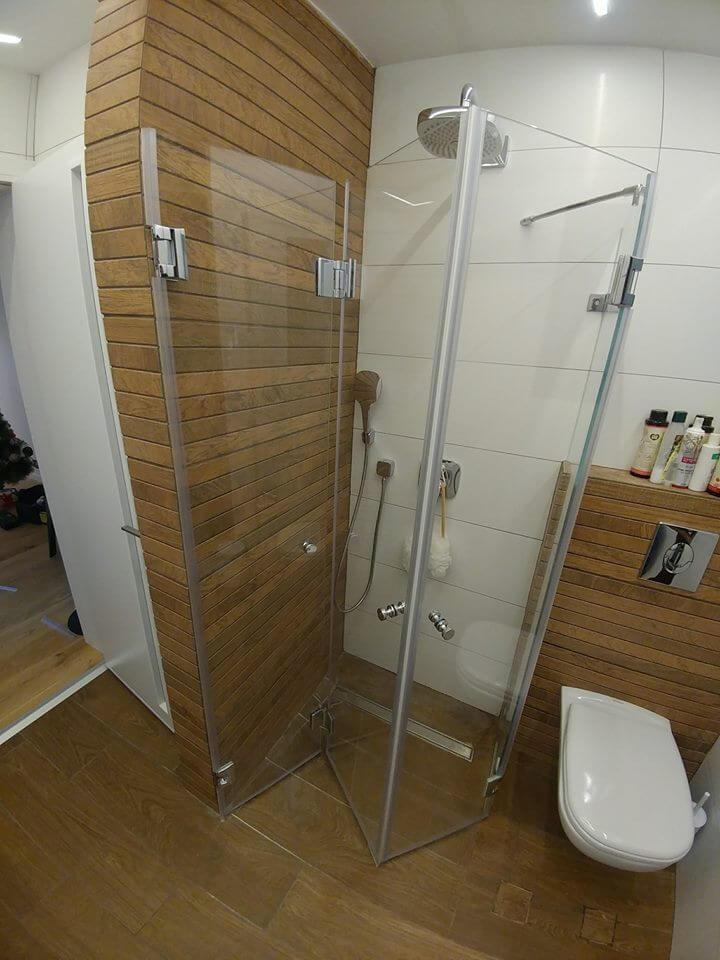 מקלחון אקורדיון 2 פתוח
