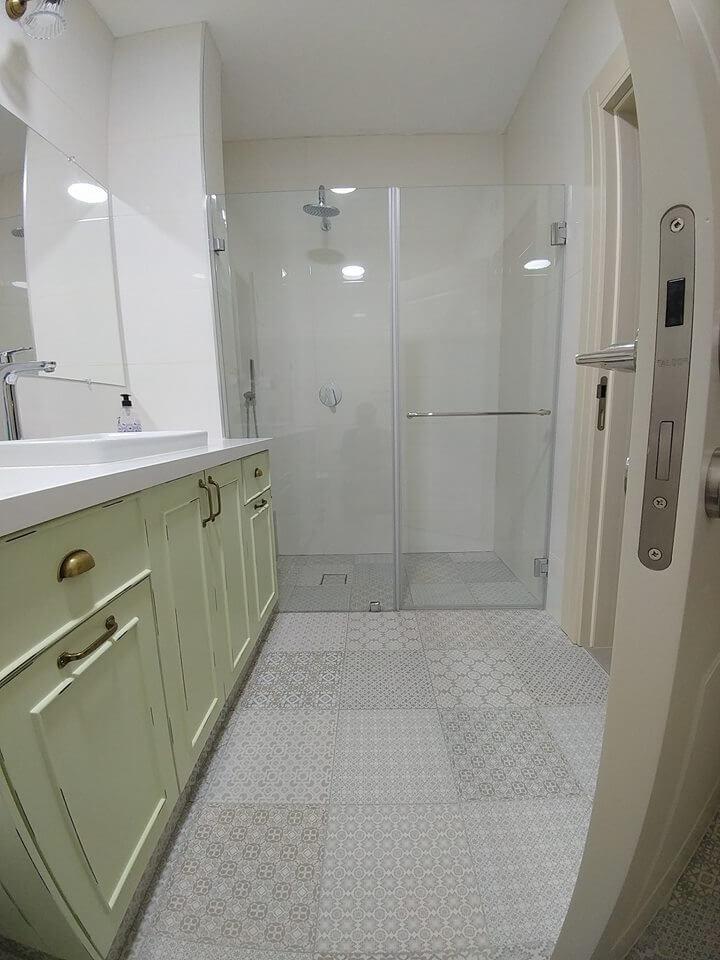 מקלחון חזית דוגמה 11