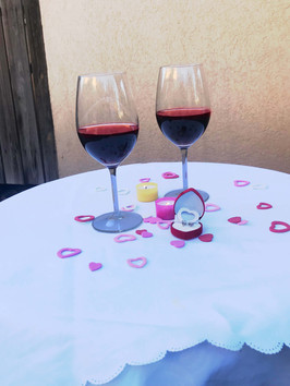 ערב רומנטי בין בני זוג