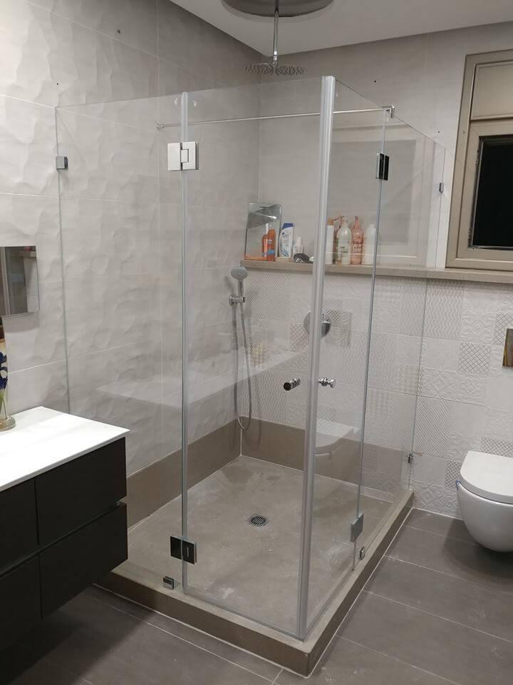 מקלחון פינתי דוגמה 9