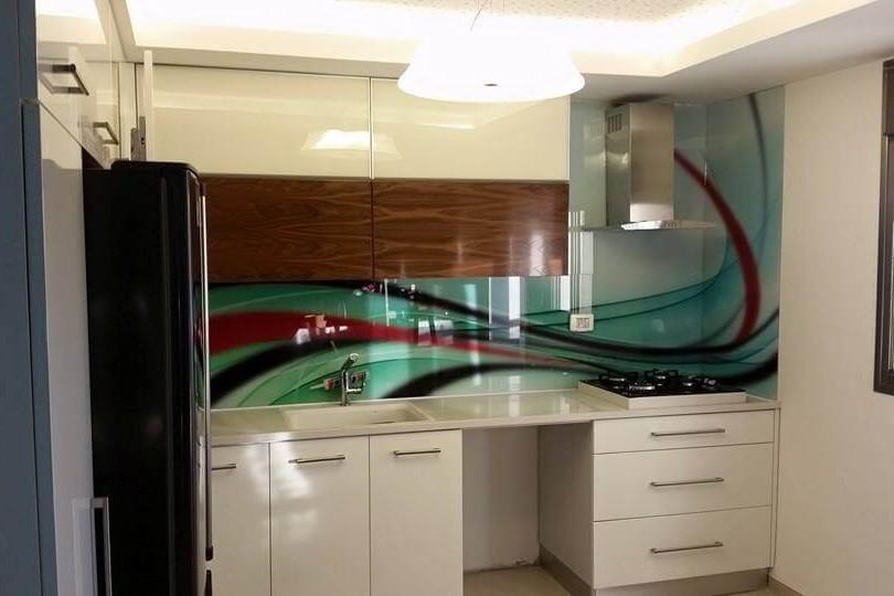 חיפוי זכוכית למטבח דוגמה 14