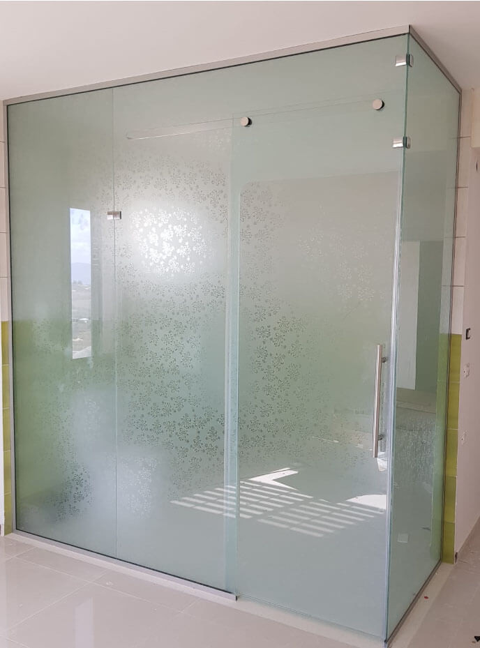 עבודות זכוכית דוגמה 9