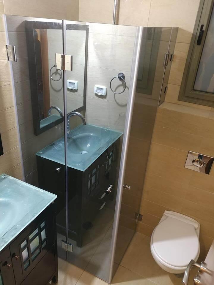 מקלחון פינתי דוגמה 14