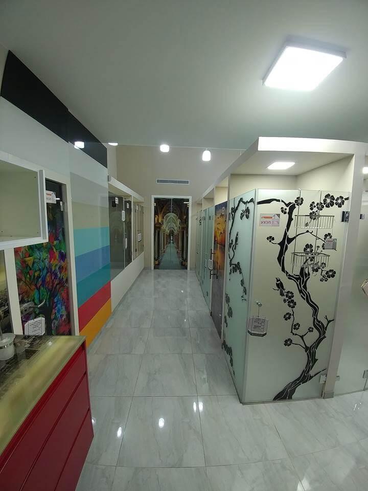 מקלחונים - צד שמאל 2