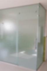 מקלחון הצפון - עבודות זכוכית