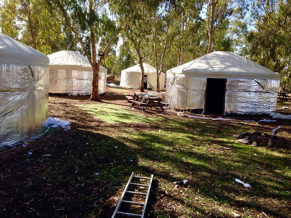 אוהל אינדיאני? עדיף אוהל מונגולי