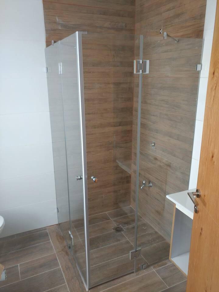 מקלחון פינתי דוגמה 6