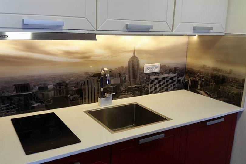 חיפוי זכוכית למטבח דוגמה 7