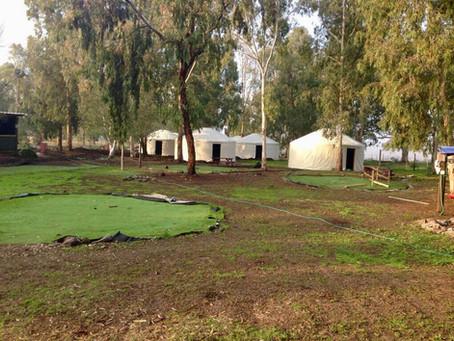 אוהלים מונגוליים בצפון