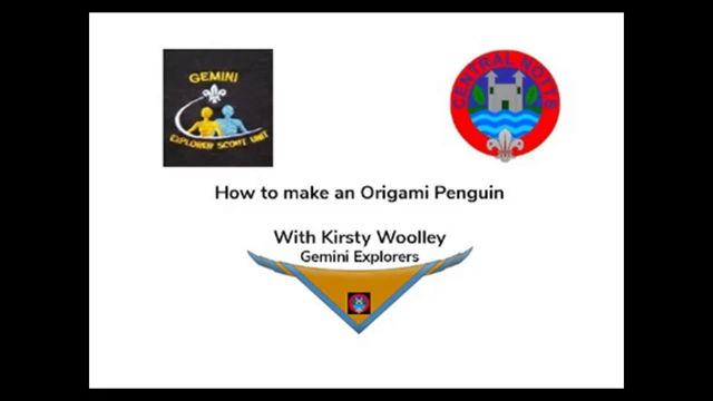 Origami and photo skills