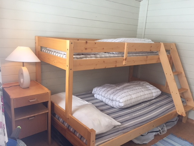 extra 3 beds stuga