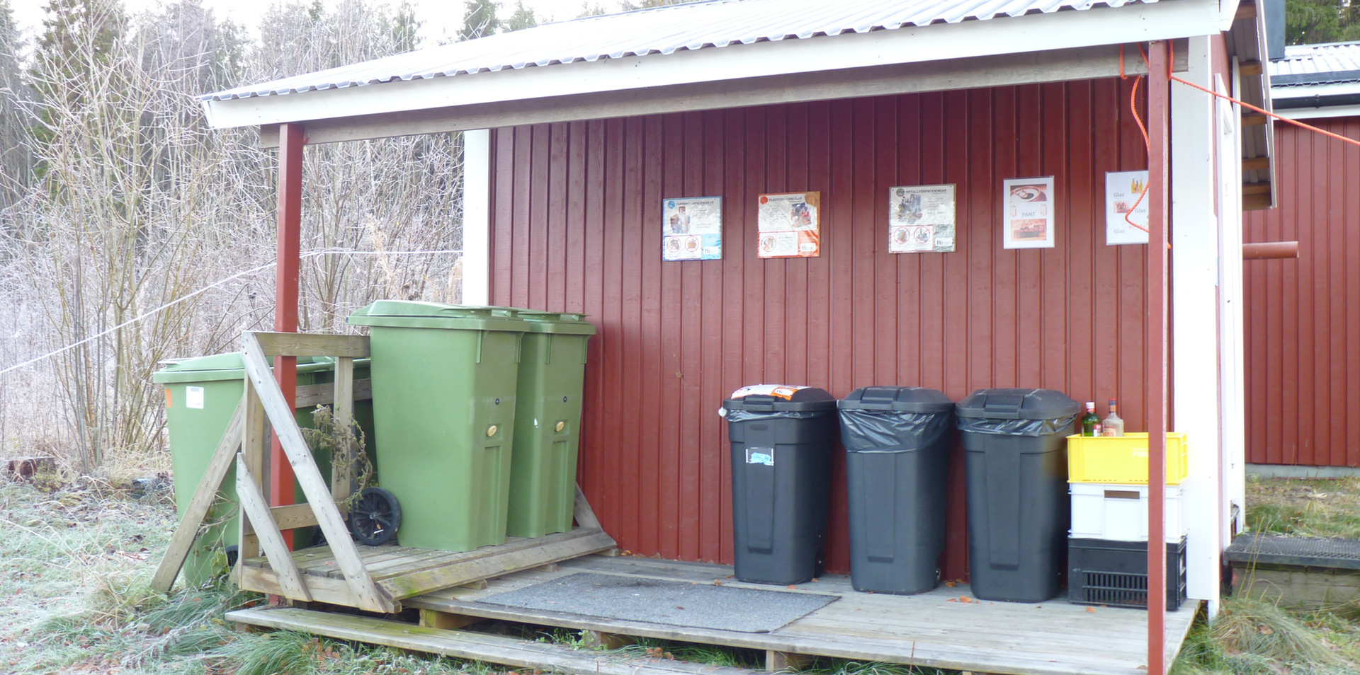 afval verzamelplaats
