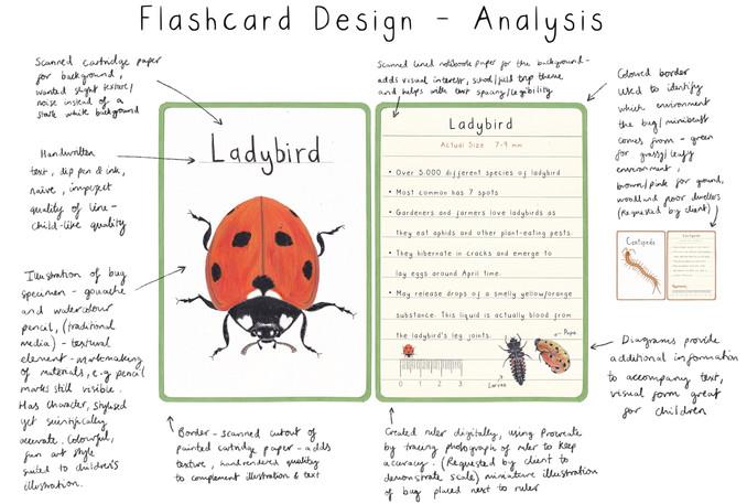 Flashcard Design Analysis