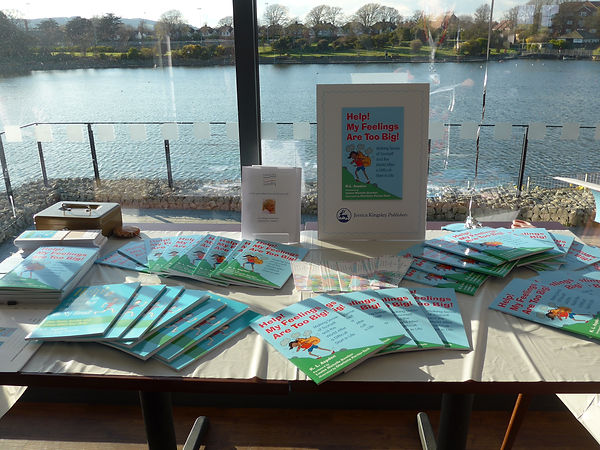 Book Launch 'Help! My Feelings Are Too Big!'  Charlotte Portier-Tock