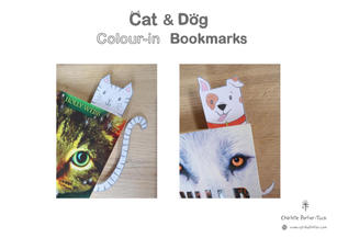 Cat & Dog Colour-in Bookmarks Cover Page