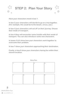 'Create Your Own Comic Strip' Pg 2