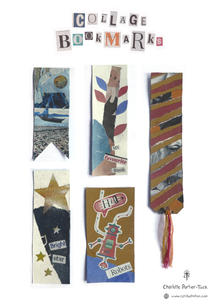 Collage Bookmarks Cover Sheet