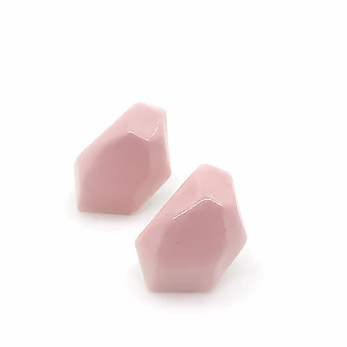 Krystalix náušnice - růžové