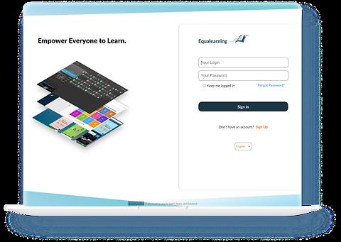 Equalearning Interface Laptop