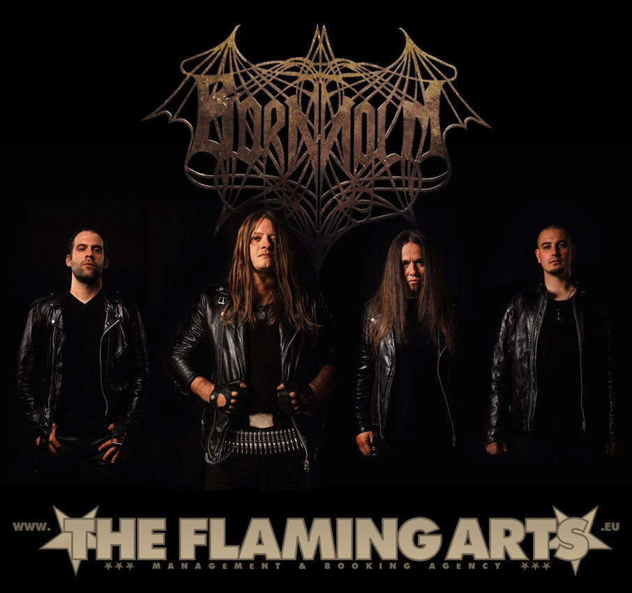 The band signed to The Flaming Arts Agency!