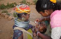 Polio Vaccine by Bondo  Health Assistant