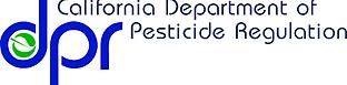 Logo for California Department of Pesticide Regulation