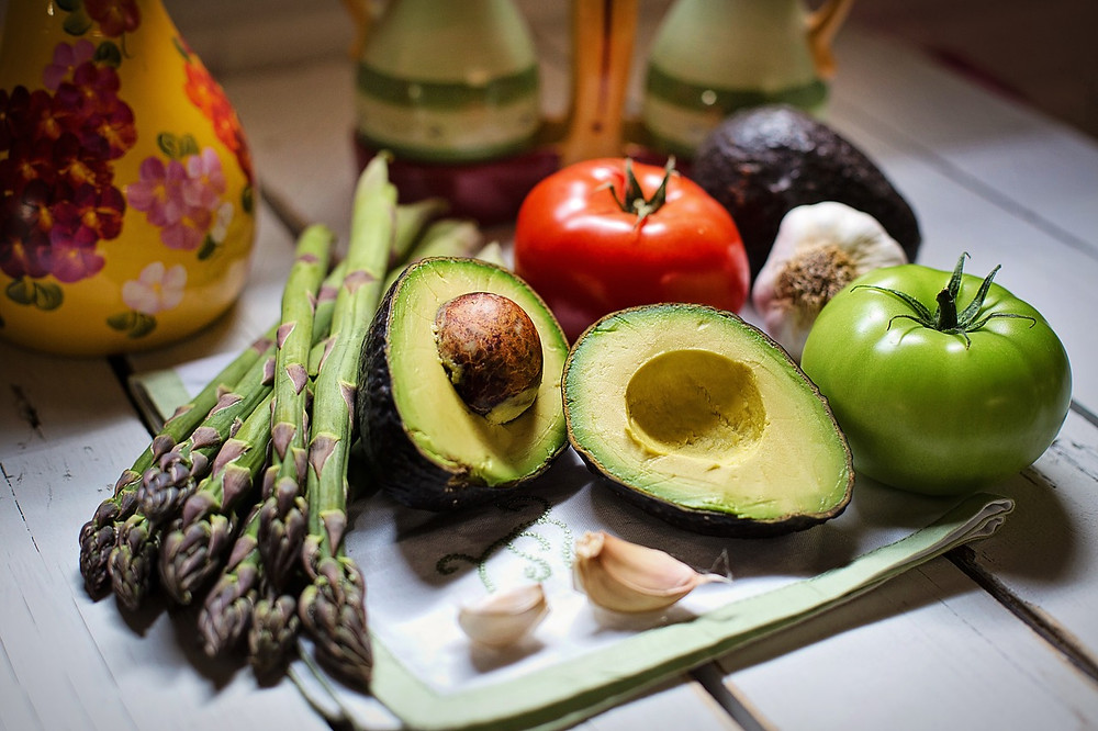 antiinflammatory diet foods avocado asparagus