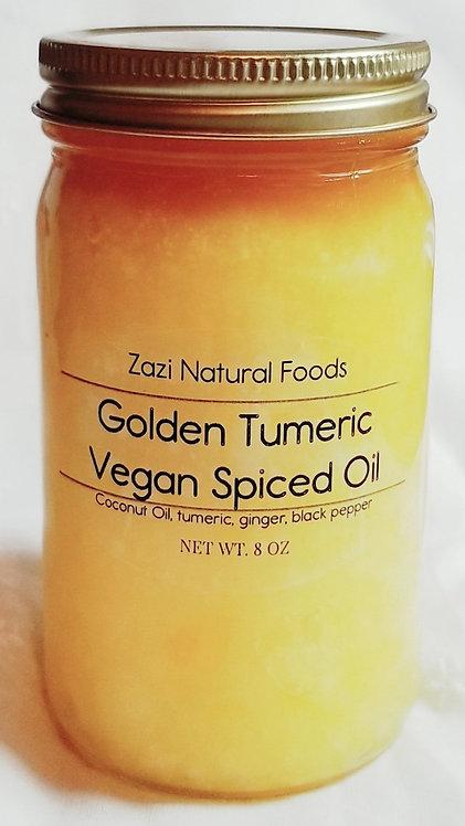 Golden Tumeric Vegan Spiced Oil