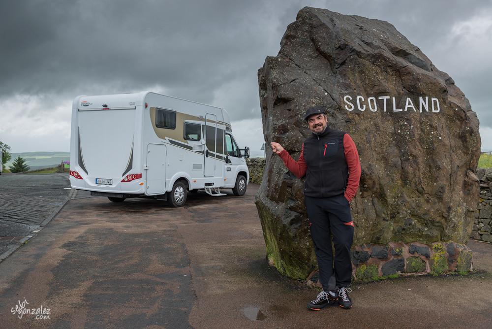 Frontera escocesa.