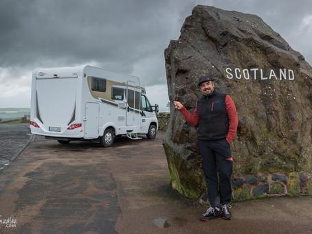 Escocia: Reino de luz y color....... y nubes.