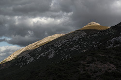 Roete de la Capilla, 1186 m.
